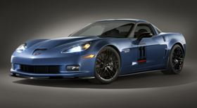 The 2011 Corvette Z06 Carbon Limited Edition makes abundant use of CFRP components.
