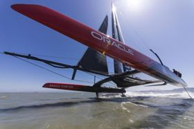 As Official Innovation Partner of ORACLE TEAM USA for the 35th America's Cup, Airbus will share its know-how of composites and other disciplines. (PIcture © Guilain GRENIER.)