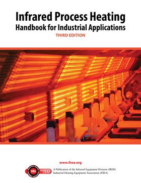 The book covers infrared heating in industrial processes.