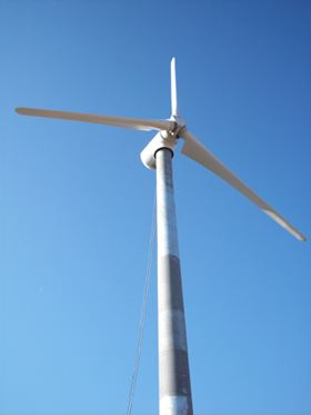 Terom wind turbine.