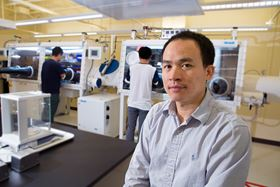 Biwu Ma, associate professor of chemical and biomedical engineering at Florida State University. Photo: Bill Lax/Florida State University.
