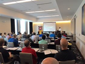 Attendees receive valuable technical information at IHEA's seminar.