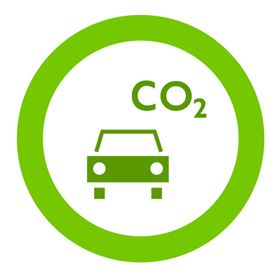 The reduction in emissions from new cars has helped lower total CO  emissions from all cars on UK roads.