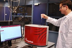 Magritek report on Spinsolve Benchtop NMR spectrometer