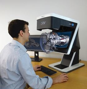 The Deep Reality Viewer (DRV-Z1) reportedly enables the user to view high definition 3D images under magnification.