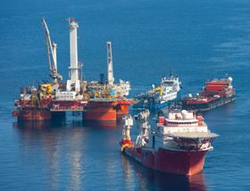 BP operations in the Gulf of Mexico. (Picture © BP plc.)