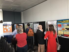 Poster session in full swing.