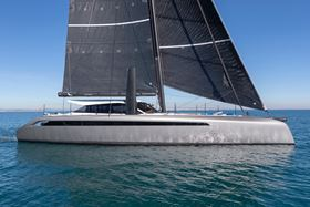 Hexcel has supplied a range of carbon fiber reinforcements to multihull builder Gunboat for its series of Gunboat 68 yachts.