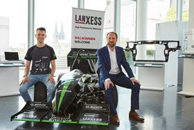 Lanxess has supplied materials to a racing team from Cologne University.