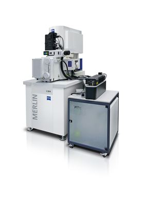 RISE system with ZEISS Scanning Electron Microscope. Image credit: WITec