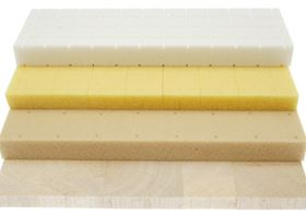 A sandwich structure consists of two high strength composite skins separated by a core material. Various core materials are available, including balsa, PVC, and PET.