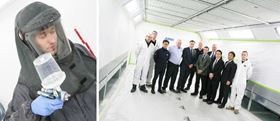 ARRK's new paint spraying facility opens its doors to meet the growing UK automotive demand.