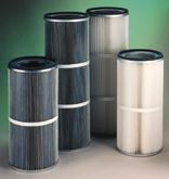 Figure 1: Various types of cartridge filters.