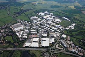Axon's new factory site at Brackmills Industrial Estate. (Photo courtesy Brackmills Industrial Estate.)