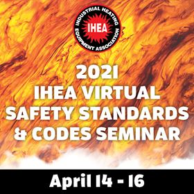 The seminar about safety standards and codes takes place online from 14–16 April 2021.