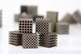 LIGHT has investigated the use of novel low-density lattice structures to support overhanging geometries and prevent deformation during printing.