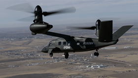 The Bell V-280 Valor craft. (Photo courtesy Bell Helicopter.)