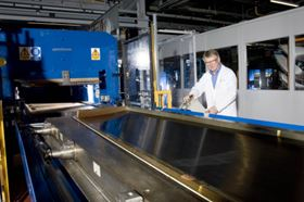 Bombardier has developed and patented its own resin transfer infusion (RTI) process for the CSeries wing.