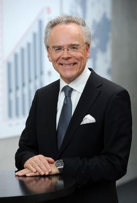 Dr Hans J Langer, founder and CEO of EOS GmbH.