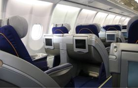 Aircraft interiors are expected to be a lead application for the low-FST Divinycell F foam from DIAB.