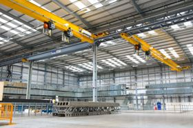 RHC Lifting had to overcome a number of technical challenges to meet GKN Aerospace's specialised requirements. The equipment represents RHC Lifting's biggest order to date.