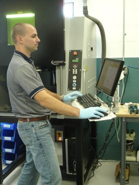 Danco offers computer-controlled laser marking, engraving, and screen printing services if requested by the customer.