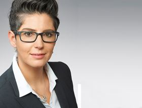 Nadine Buhmann, the new vice president sales at KraussMaffei.