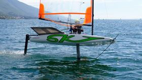 Cobra International and Australian boat builder Skeeta Foiling Craft have developed a new range of hydro foiling dinghies.