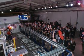 During a customer event, Solvay unveiled the new demonstrator line.