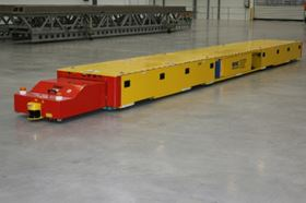 RHC Lifting's Automated Guided Vehicle (AGV).