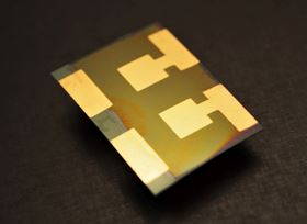 Perovskite solar cell. Image credit: UniFR.