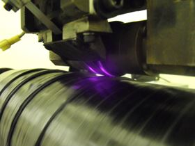 Automated Dynamics is testing a laser-based heating method for fibre placement of composite materials.