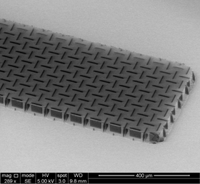 Nanocardboard made out of an aluminum oxide film