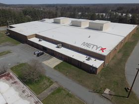 The planned new manufacturing facility in North Carolina, USA.
