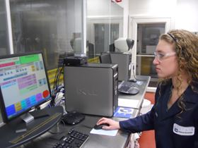 Enthone ASCL Engineer monitors A2LA accredited tests.
