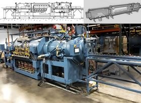 Gasbarre Thermal Processing Systems has installed a continuous vacuum furnace with a 5 bar pressure quench capability.