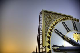 FORMAX worked with Premier Composite Technologies to create the hands for the clock of the Dokaae Tower in Mecca, the world's largest clock tower. The clock hands are 22 m and 17 m in length and are made out of carbon prepreg. They weigh 6 tonnes each.