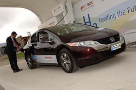 UK's first public hydrogen refueling station opens at Honda in Swindon