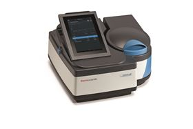 The Thermo Scientific GENESYS 180 UV-Vis spectrophotometer.