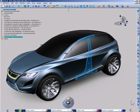 BMW used Dassault Systèmes' CATIA software to develop its i3 electric car.