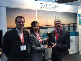 R-TECH Materials increased visitors to its stand by 350%.