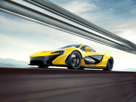 The McLaren P1 is based on a carbon fibre chassis.