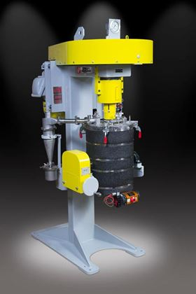 Union Process has developed a pilot-sized mill for cryogenic grinding.