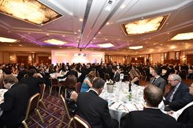 Attendees at the Composites UK awards dinner in 2018.