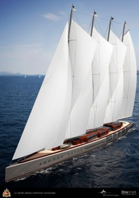 The 141 m  Dream Symphony.