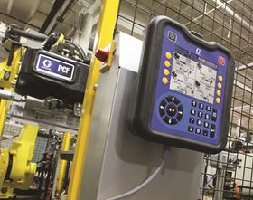 The Graco PCF metering system can handle ambient, warm melt and hot melt materials up to 400°F.
