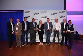 The innovation award winners.