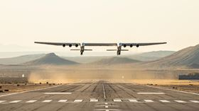 Solvay reports that the Stratolaunch aircraft has been successfully flown for the first time.