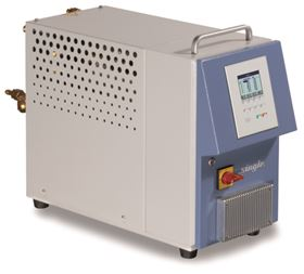 SINGLE hot-water temperature control system for media temperatures of up to 225°C.