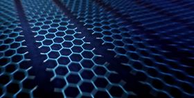 This Illustration shows the molecular structure of the graphene nanoribbons. Image courtesy of Yves Rubin.